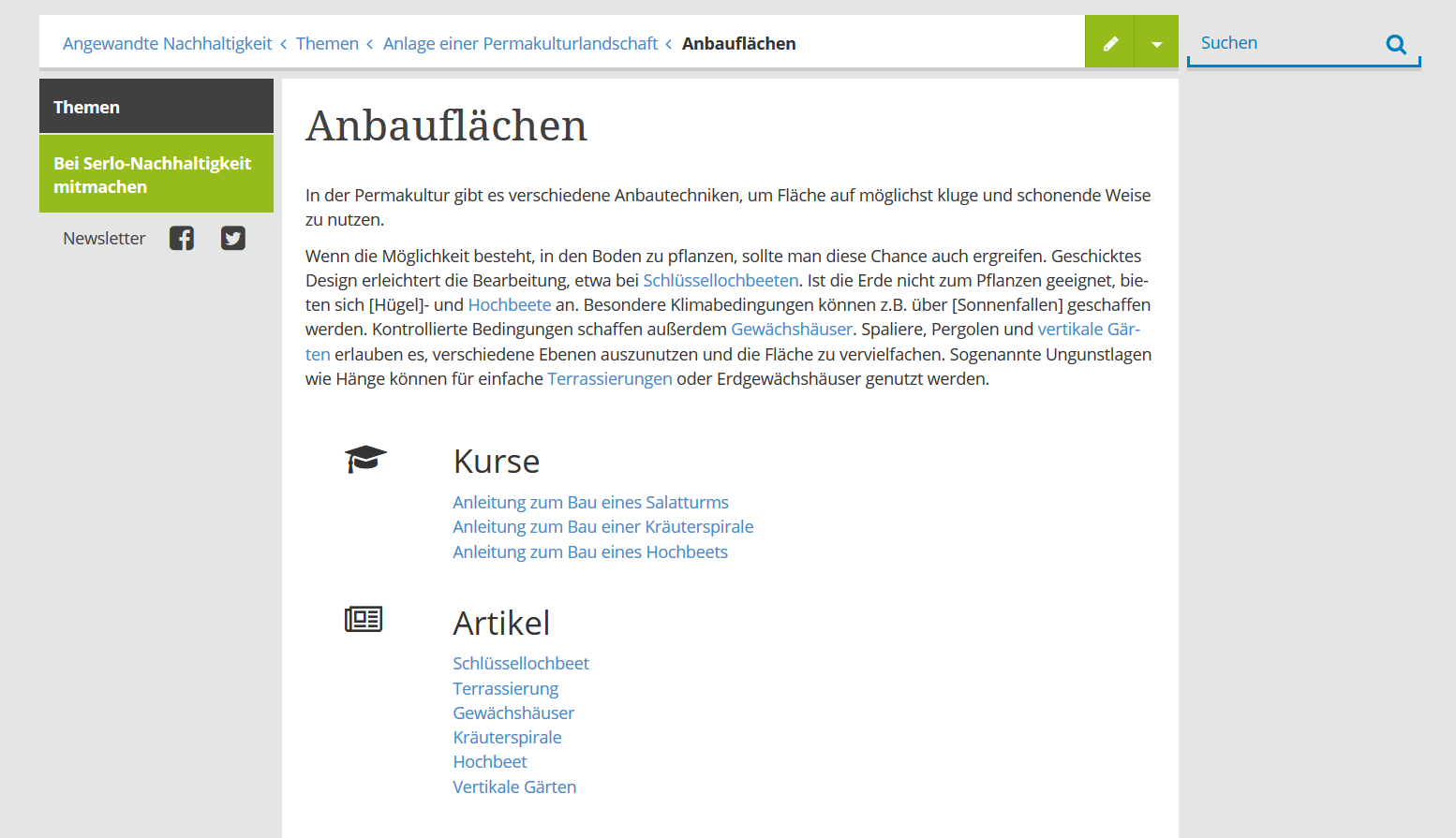 Thema Screenshot
