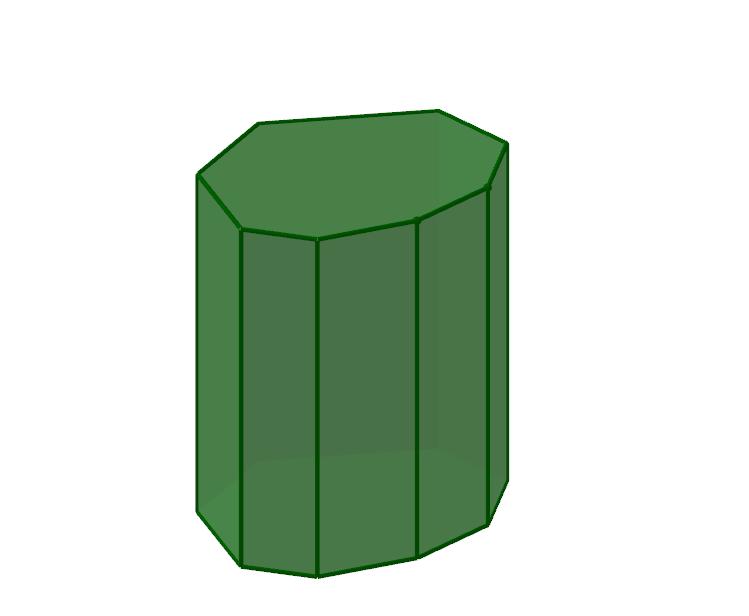 Gerades Prisma - Beispielbild