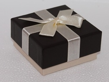 Foto einer Geschenkschachtel