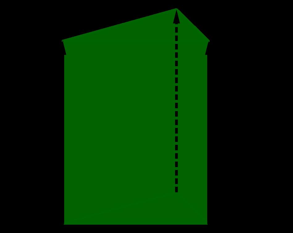 Bild: Dreieck wird parallel nach oben verschoben