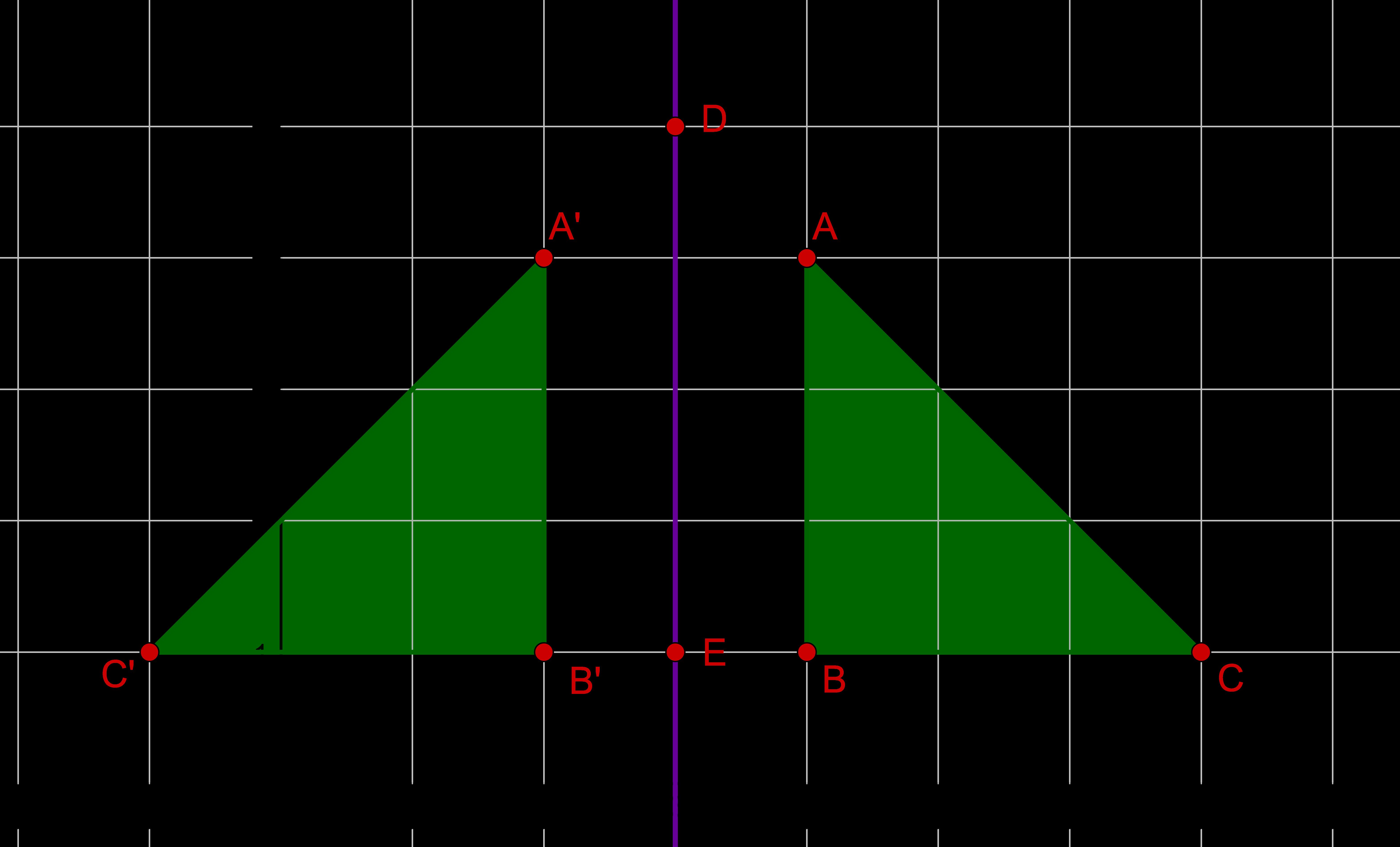 Spiegelung Dreieck