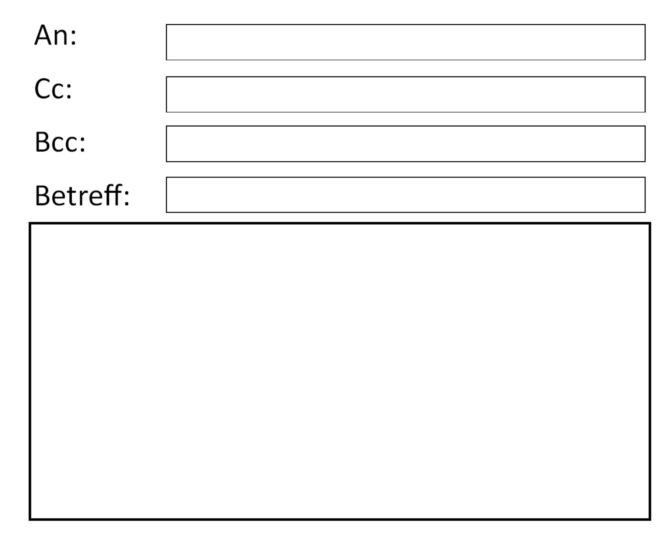 E-Mail Fenster