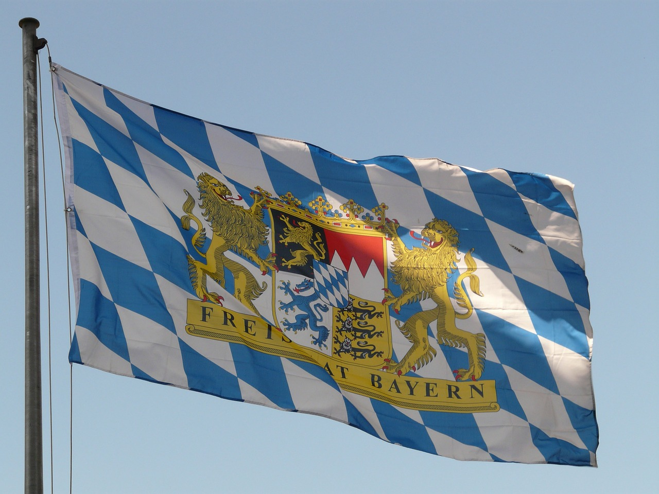 bayerische Flagge