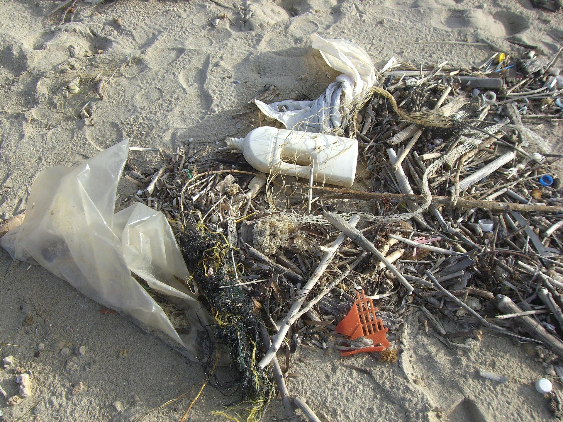 Plastik Strand