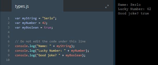 Javascript lernen auf Codecademy