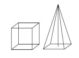 Pyramide+Würfel